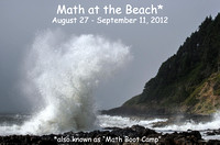 Math at the Beach 2012, Aug 27-Sept 11