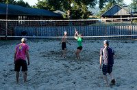 Vollyball at the dorms