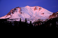 Mt. Lassen just before sunrise