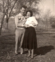 1945 Mom and Dad not in army uniform