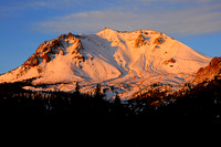 Mt Lassen at sunrise