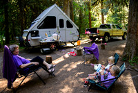 Breitenbush Campground with Amalia & Marisol, Aug 4-6